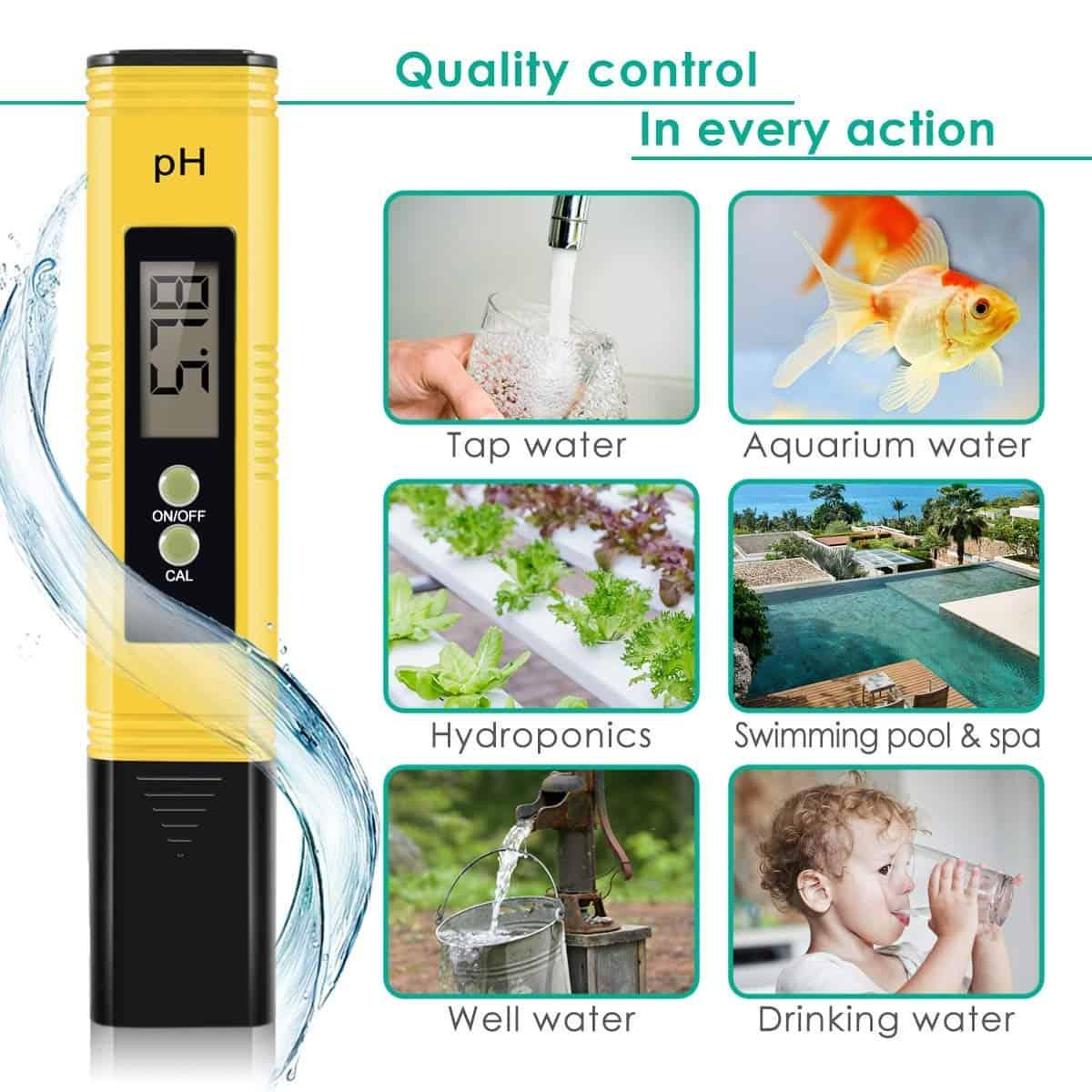 Handheld pH Meter Hydroponics